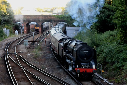 "70000 ""Britannia"" @ Bournemouth, 3 Aug 2011"