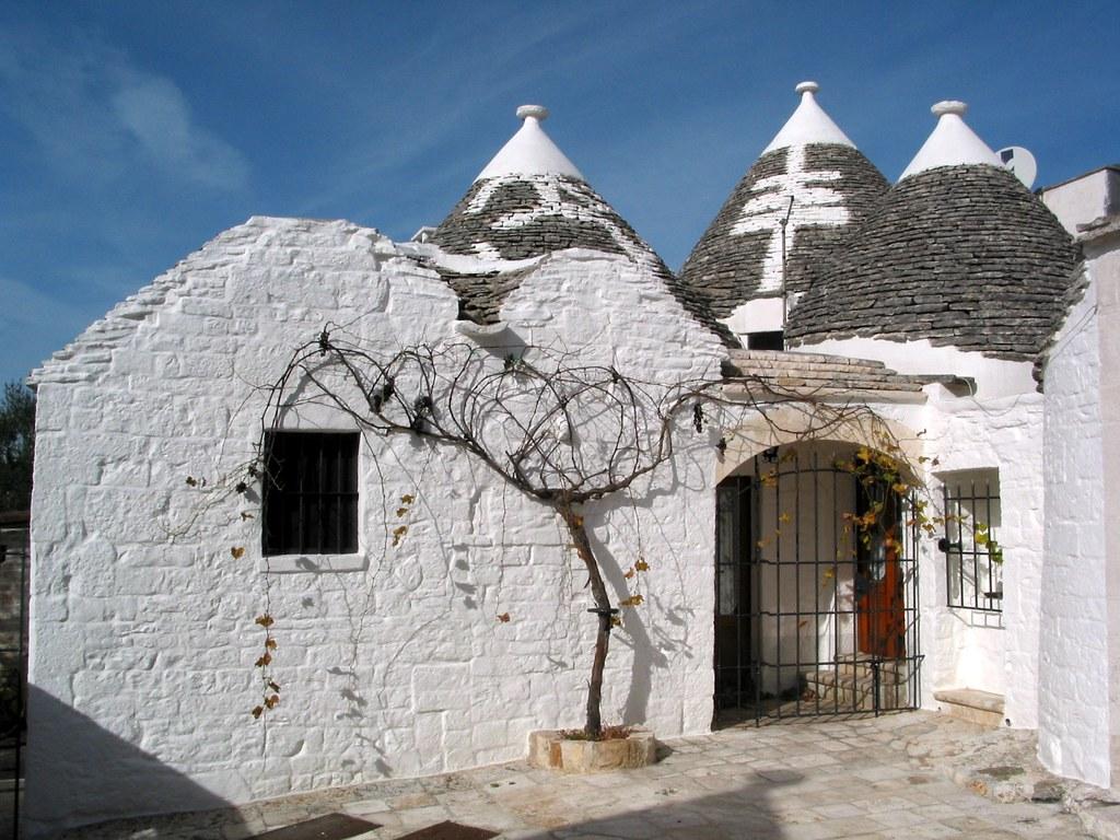 Apulia Puglia Italy Alberobello trulli house