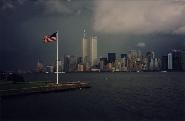 World Trade Centre on September 10, 2001