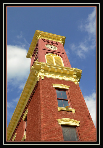 building clock perspective clocktower chathamnewyork