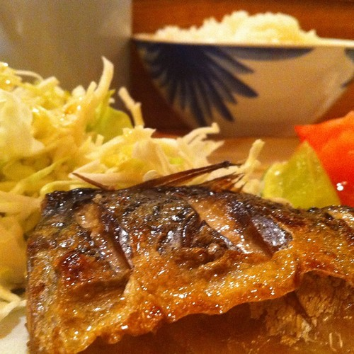 Broiled Mackerel @ Ginza Restaurant