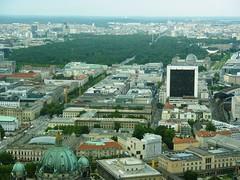 Vista aérea de Unter den Linden