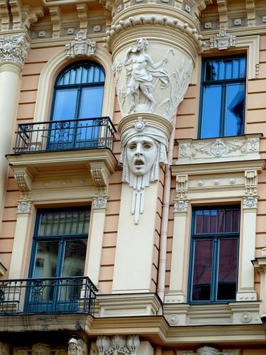 architecture latvia artnouveau riga jugendstil bej abigfave anawesomeshot thegoldenphoenix flickrstruereflection1