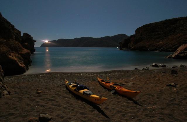 Playa de Boletes y el cabo Tiñoso I