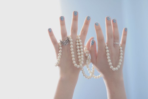 256/365 wrapped in pearls