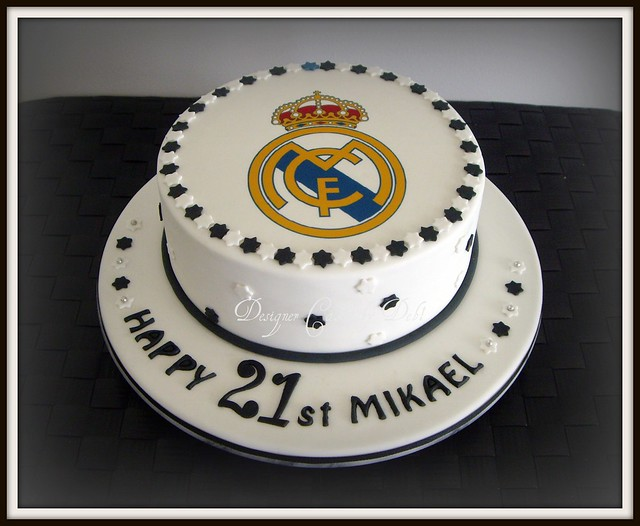 Cake Images Real : Real Madrid Cake - a photo on Flickriver