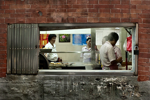restaurant kitchen - Shanghai
