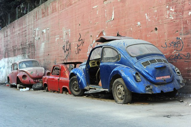 beetles abandonados - Flickr Guillaume Paumier
