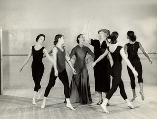 Martha Graham's studio
