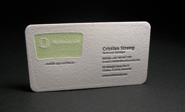 Mobiversal Business Card