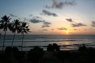 Sunset Over Sri Lanka