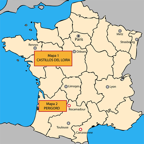 Mapa General Francia
