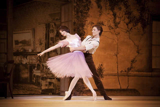 Lauren Cuthbertson as Alice and Sergei Polunin as Jack in Alice's Adventures in Wonderland  © Johan Persson/ROH 2011