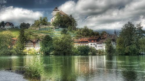 castle geotagged schweiz nikon wasser suisse che chateau hdr weiher werdenberg tonemapped kantonstgallen capturenx switzzerland d5100 photomatix4 nikkorafs18200mmvrll geo:lat=4716669846 geo:lon=946387959