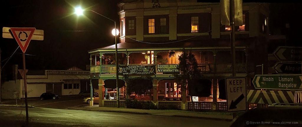 Winsome Hotel night panorama