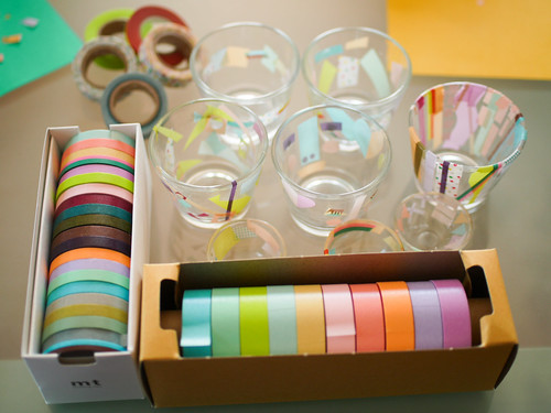 washi-tape crafting