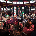 Inside the Spiegeltent |