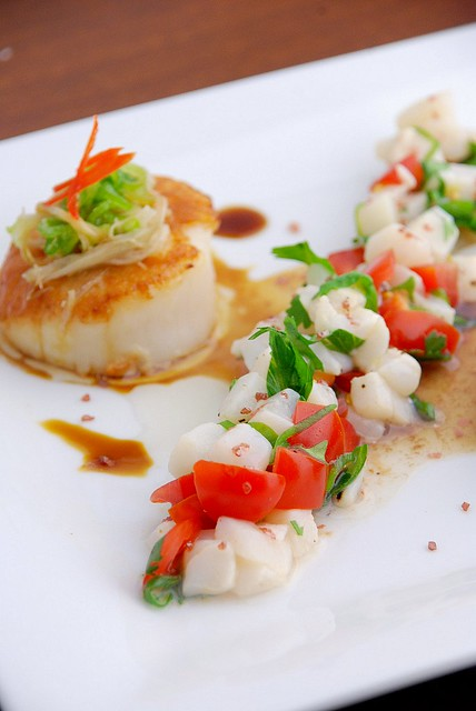 scallop ceviche | Flickr - Photo Sharing!