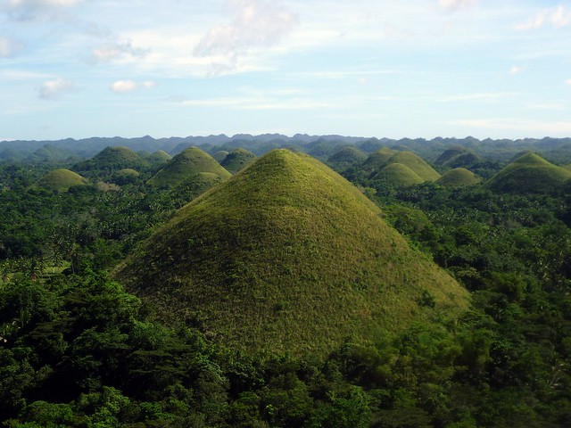 Isla de Bohol, Colinas de Chocolate, Filipinas