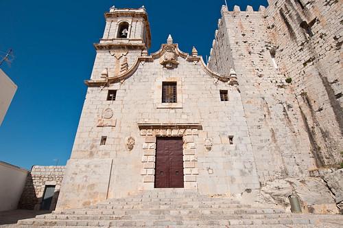 La ermita de la Virgen de la Ermitana de Peñiscola