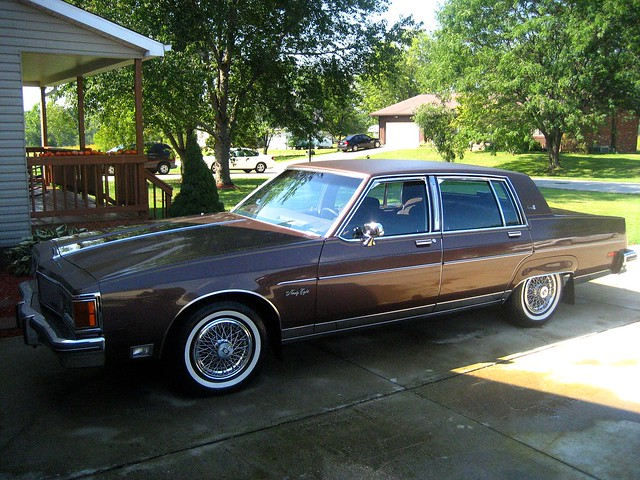 A lovely 1984 Olds Regency 98 Brougham