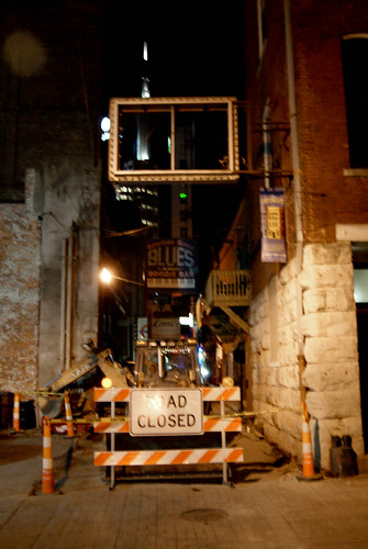 Printer's Alley Under Construction