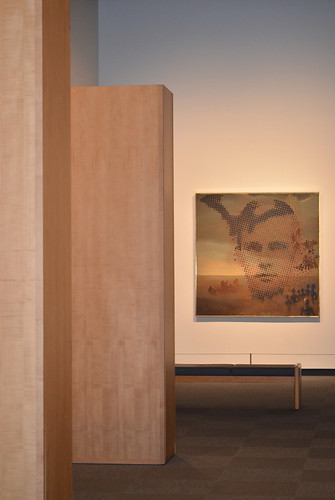 Inside the The Dali Museum Gallery: Portrait of My Dead Brother, St Petersburg, Florida