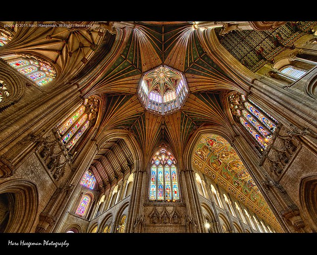 Gothic Star - Ely Cathedral (Editor's Pick on hdrspotting.com)