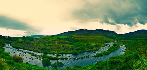 ireland landscape pano wide panoramica irlanda kaneda ringofkerry kaneda99 alessandropautasso