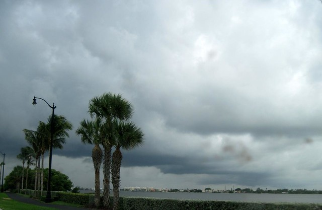 Ominous Sky over Intracoastal.