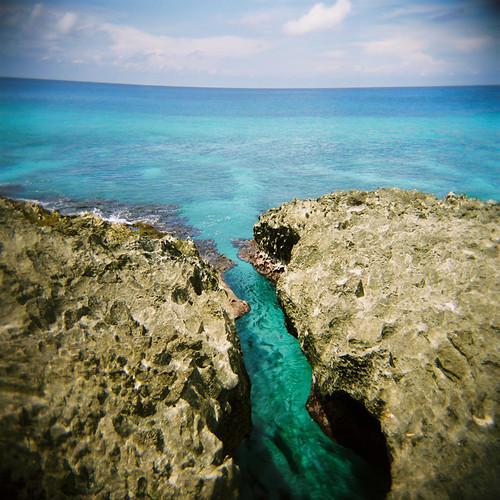 blue sea mer azul island mar holga colombia bleu isla ilha 120mm caribe île sanandres