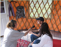 Thumbnail image for CBC  Interview with Dr. Paul on Cabot Shores Yurt