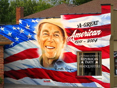 Ronald Reagan Mural - Cookeville, TN