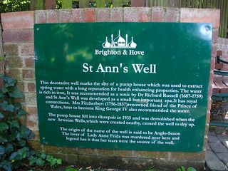 Image of St Ann's Well.