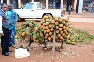 sprzedawca ananasów
