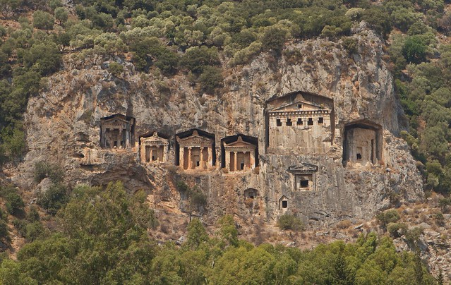 Dalyan Lycian Rock Tombs  Flickr - Photo Sharing!