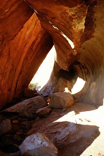 Inside Uluru