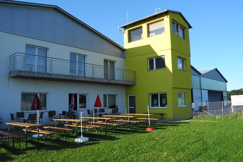 Flugplatzgebäude Gmunden