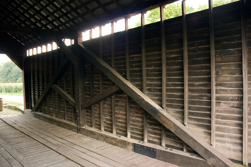 Dent's Run Covered Bridge