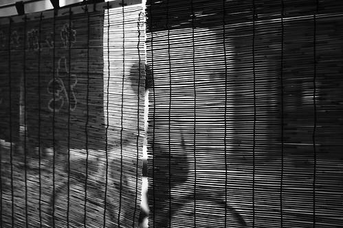 street blackandwhite bw texture bike japan cherry restaurant cyclist streetphotography streetscene bamboo 日本 bicyclist gifu 5star 自転車 wideopen 白黒 bambooblind openairmarkets sudare yanagase manonbike 岐阜県 naturaltextures 30mmsigmaf14 coveredmarkets canon50d 岐阜市 openpatio すだれ takesudare sudarestreetscene taggingtakeslongerthanprocessing 竹すだれ