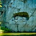 Lion Monument in Lucerne, Switzerland