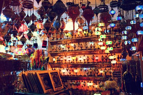 arab street lamps