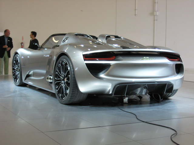 porsche 918 spyder concept car flickr photo sharing. Black Bedroom Furniture Sets. Home Design Ideas