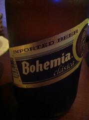 ボヘミア。ビール空きにはオススメ書いてありました。