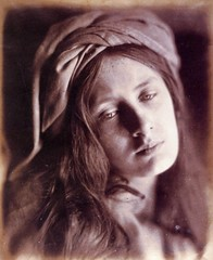 Study of Beatrice Cenci, Model is May Prinsep, 1867, by Julia Margaret Cameron