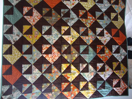 Chocolate Envelope Quilt