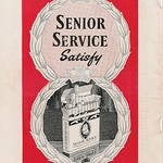 12 - Advert - Senior Service Cigarettes