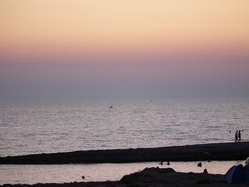 Tramonto marina di Mancaversa