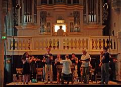 Bach en Combrailles, Bach-Orgel in Pontaumur, Probenaufnahme