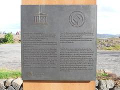 Þingvellir Plaque